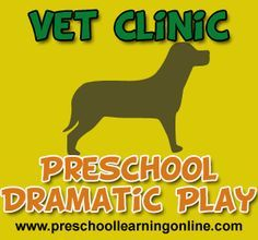 vet center dramatic play - Google Search