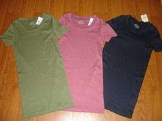 J Crew Perfect Fit Stretch Tee $12