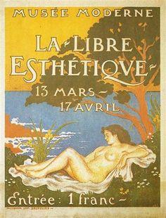 Exhibition poster for La Libre Esthétique  - Georges Lemmen