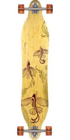 "Loaded Bamboo Vanguard 42"" Longboard Skateboard Complete - Flex 1"
