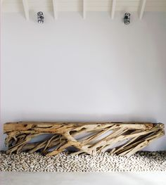 Piet Boon Styling by Karin Meyn | Nature bench design, South Africa Residence.