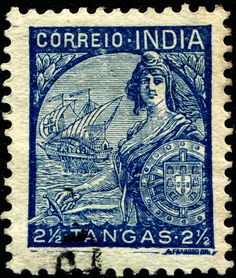1933 used in Portugese India