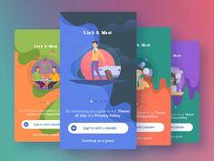 Tutorial App Screens by Cleveroad #Design Popular #Dribbble #shots