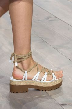 The Top 8 Shoe Trends For Spring 2015 -  Michael Kors Spring 2015
