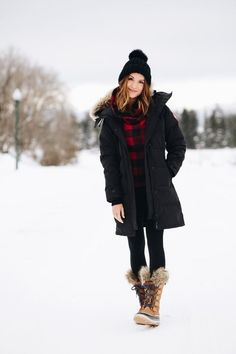 Winter Style // Winter fab look.