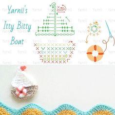 Crochet Board Applique - Chart ❥ 4U hilariafina…