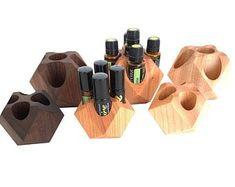 GeoCube Plus for Essential Oil Bottle storage essential Essential Oil Holder, Essential Oil Storage, Essential Oil Bottles, Essential Oil Diffuser, Essential Oils, Rollers, Bottle Display, Wood Oil, Doterra Oils
