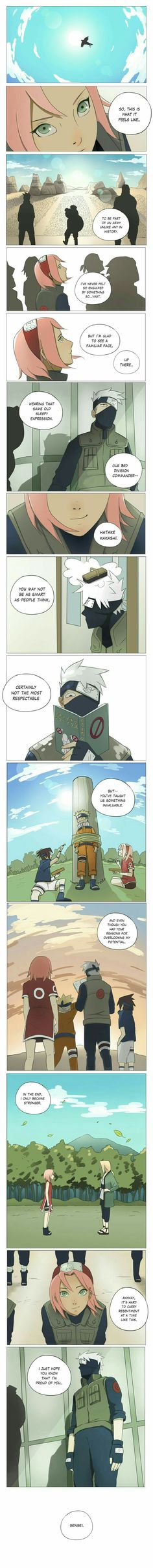Sakura, Kakashi, text, comic, assembly, Gaara, ninjas, army; Naruto