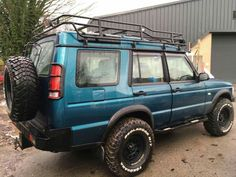 Land Rover Discovery 1, Discovery 2, 4x4 Van, Cars Land, Land Rovers, Roof Rack, Custom Trucks, Land Rover Defender, Range Rover