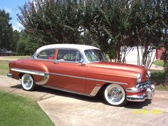 1953 Chevrolet Bel Air - 2 door Sedan - I like these SO much better than the '57 model!