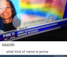 Who names these people? - Funny tumblr post