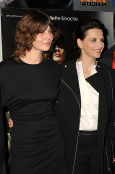 Ageless French Chic | Basic Black | Juliette Binoche- FocusOnStyle.com #businesschic