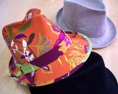 Nicole Mallalieu Design / You SEW Girl! - Fedora - Adults Hat Pattern