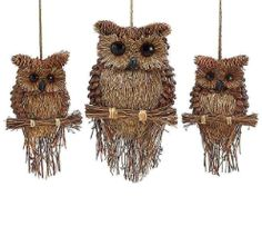 Handcrafted Pine Cone Owls                                                                                                                                                     More