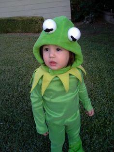 Kermit the frog homemade halloween costume
