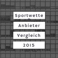 Die besten Sportwetten Anbieter im Vergleich: www.sportwettenanbieter.com