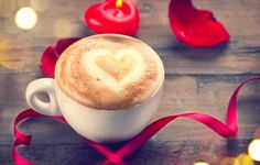 Celebrate #valentinesday2017 with a cup of healthy and delicious #coffee #livealittlelonger