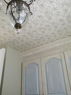1000 images about my ensuite project ceiling ideas on - Wallpaper on ceiling ideas ...
