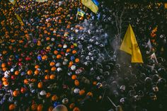 CULTURE of the CONFRONTATION - Kiev, Ukraine, Winter 2013