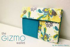 Free Sewing Pattern and Tutorial - The Gizmo Wallet