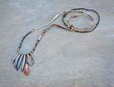 SOLD to Jenna by payment of 4. a shoreline amble necklace
