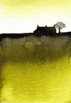 ARTFINDER: Lime. by JULIE MORRIS - This one dried very different to the rest but I liked it and made no alterations.