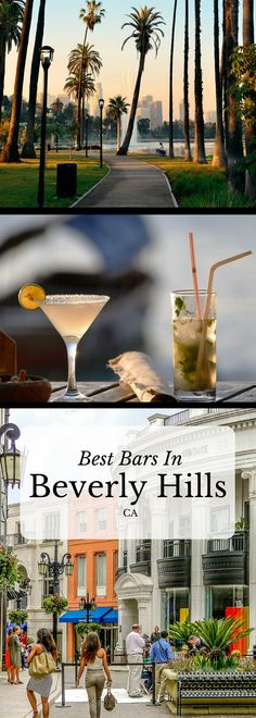 Are you looking for the best bars in Beverly Hills? Here's a list of some of the most beautiful and delicious places to grab a cocktail in this side of town!