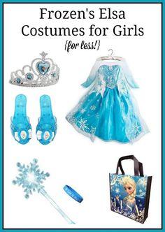 Frozen's Elsa Costumes for Girls {for less!}