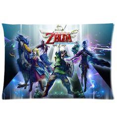 Custom zelda skyward sword Pattern 04 Pillowcase Cushion Cover Design Standard Size 20X30 Two Sides MOGUI http://www.amazon.com/dp/B00TH16MJ6/ref=cm_sw_r_pi_dp_sFjjvb11NF4EY