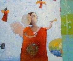 Pinzellades al món: Il·lustracions d'àngels / Ilustraciones de ángeles / Illustration of angels Francis Kilian