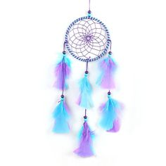 Handmade Art Handicraft Dreamcatcher Car Hanging Pendant Wind Chimes Home Decoration Dream Catcher Christmas Gift Drop Shipping-in Wind Chimes & Hanging Decorations from Home & Garden on Aliexpress.com | Alibaba Group