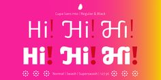 Lupa Sans Pro - Webfont & Desktop font « MyFonts