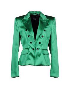 Dolce & Gabbana Green Satin single-breasted blazer
