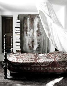 the bed spread