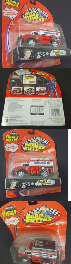Toy Vehicles 145946: New Road Rippers Motorized Rush And Rescue Ambulance Nib -> BUY IT NOW ONLY: $34.95 on eBay!