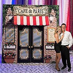 CAFE DE PARIS PROP * Paris theme party decor * photo opp. *