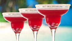 Surinaams eten – Cherry Margarita (cherry cocktail met tequila en granaatappelsap)