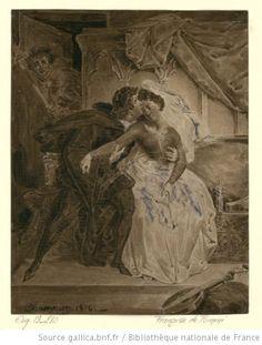 Françoise de Rimini : scène de l'acte IV