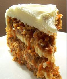 This is my favorite recipe for homemade carrot cake! This cake is so easy to make, perfectly moist, and topped with an easy homemade cream cheese frosting. I feel like carrot cake is a dessert most Carrot Cake With Pineapple, Best Carrot Cake, Pineapple Recipes, Cupcakes, Cupcake Cakes, Carrot Recipes, Healthy Recipes, Cooking Recipes, Quick Recipes