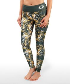 This Green Bay Packers Leggings - Women by Forever Collectibles is perfect! #zulilyfinds