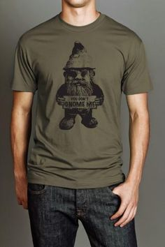 BUSTED TEES GNOME TEE