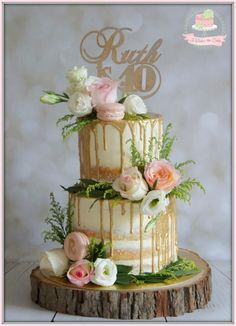 Naked Buttercream Floral by Jo Finlayson (Jo Takes the Cake)