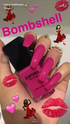 Here are the 10 most popular nail polish colors at OPI - My Nails French Nails Glitter, Matte Pink Nails, Aycrlic Nails, Hot Nails, Hair And Nails, Nails 2016, Nail Nail, Gorgeous Nails, Pretty Nails