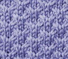 The Y Stitch (1x1 cables)