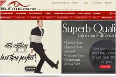 Creative Web design for suitme
