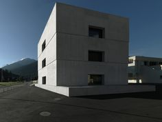 National Park Centre / Valerio Olgiati