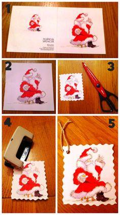 #DIY: #Christmas #Gift Tags