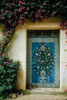 Morocco.Rabat.Street scene at old Medina.1967
