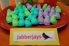 Jabberjays- Peeps! Now..what makes a good tracker jacker...