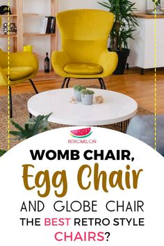 What is the best retro style chair? What is the difference between egg chair, ball chair, womb chair, globe chair? Most expensive retro chairs. Womb Chair, Egg Chair, Cool Chairs, Retro Chairs, 80s Furniture, Retro Living Rooms, Ball Chair, Icon Design, Retro Fashion